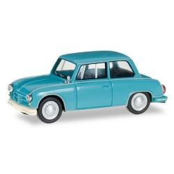AWZ P70 berline (1955) bleu turquoise