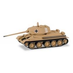 Char russe T34/85 saisi par la Wehrmacht