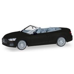 Audi A5 cabriolet noir mythos métallisé - version 2016