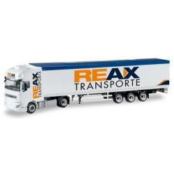 """DAF XF SSC E6 + semi-rqe benne à fond mouvant """"REAX"""""""