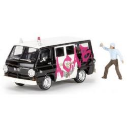 "Dodge A-100 minibus ""State Highway Patrol"" - tagué avec tager"