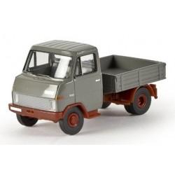 Hanomag HFF Tracteur avec gueuse Enser gris