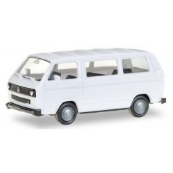 Volkswagen T3 minibus blanc