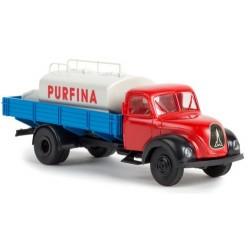 """Magirus-Deutz Mercur camion plateau & citerne """"Purfina"""""""