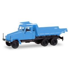 Ifa G5 camion benne bleu ciel