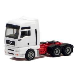MAN TGA XXL Tracteur solo blanc 6x4
