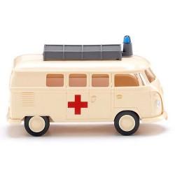 """VW T1 Combi ambulance """"DRK""""  (Croix rouge allemande)"""