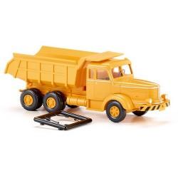 Krupp Titan camion benne de carrière jaune