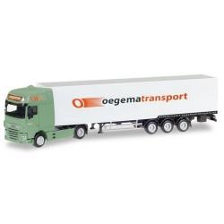 "DAF XF SC E6 + semi-remorque fourgon ""Oegema"" (NL)"