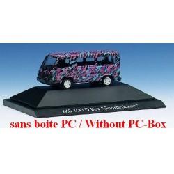 """MB 100 D minibus facelift """"Saarbrücken"""" (sans boite PC)"""