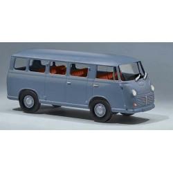 Goliath Express minibus bleu pigeon