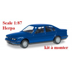 Kit BMW 5er (E34 - 1988) berline bleu outremer