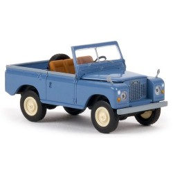 Land Rover Type 88 pick-up débâché bleu pigeon
