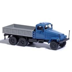 Ifa G5 camion bleu et benne gris alu