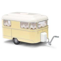 """caravane """"Brillant Nagetusch"""" 1958 beige"""
