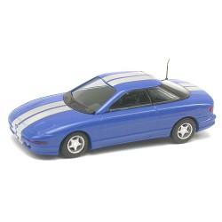 Ford Probe coupé 1988 bleu métallisé avec bandes grises