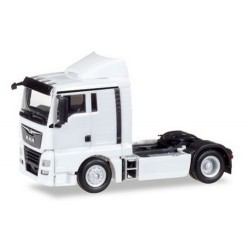 MAN TGX XL Euro 6c Tracteur solo blanc