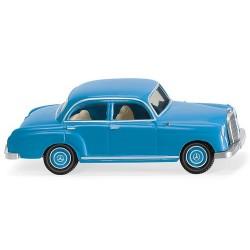 MB 180 berline 4 portes bleu ciel 1953