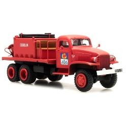 """GMC camion de pompiers feux de forêt """"Cogolin"""" cabine tôlée"""