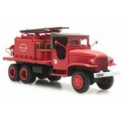 """GMC camion de pompiers feux de forêt """"Charente Maritime"""" cabine torpédo"""