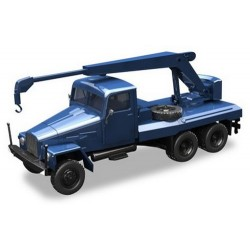 Ifa G5 camion grue bleu ciel