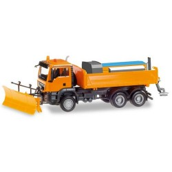 MAN TGS M E6 camion chasse-neige & sableuse
