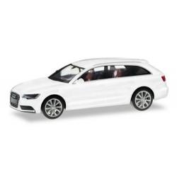 Audi A6 Avant C7 2010 blanc métallisé