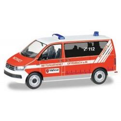 "VW T6 minibus ""Malteser Offenbach"""