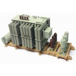 Transformateur Alsthom sur chevalet (pour transport)