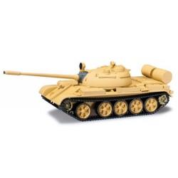 Char russe T-55 couleur sable
