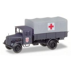 """Opel Blitz camion bâché """"Croix Rouge des Forces croates"""""""