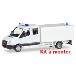VW Crafter cabine double fourgon (kit à monter)