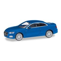 Audi A5 coupé (2016) bleu métallisé
