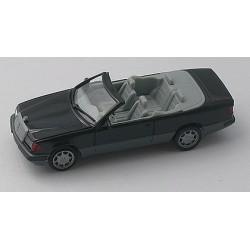 MB 300 CE cabriolet (W124 - 1987) noire