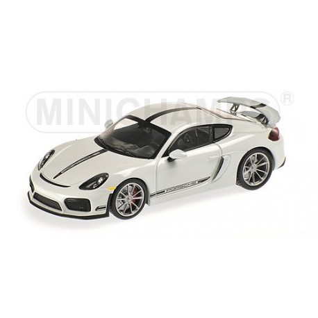 Porsche Cayman GT4 2016 blanche