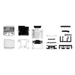 Set de 2 cabines MAN TGX XL Euro 6c sans déflecteur (kit à monter)