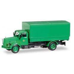 """MB L 311 camion bâché """"Polizei Hamburg Toilettenwagen"""""""