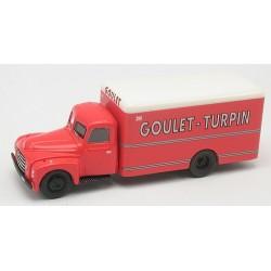 "Citroen 55 fourgon 1953 ""Goulet Turpin"""