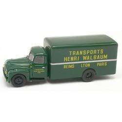 "Citroen 55 fourgon 1953 ""Transports Henri Walbaum"""