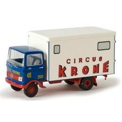 "MB LP 608 camion fourgon ""Circus Krone"" (bleu et balnc)"