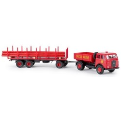 """MAN 10.212 camion + rqe plateau Pte Mâts """"Circus Krone"""""""
