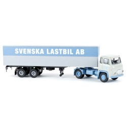 "Scania LB76 + semi-remorque fourgon ""Svenska Lstbil AB"""