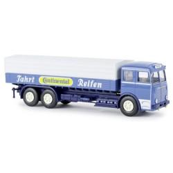 """Büssing 12000 camion bâché """"Continental Reifen"""""""