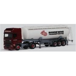 Daf 95 XF SSC + semi-rqe silo Bodewig Transporte