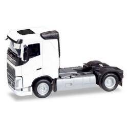 Volvo FH '13 toit plat tracteur solo blanc 4x2