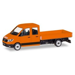 MAN TGE cabien double pick-up communal
