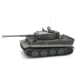 Char Tigre I Wehrmacht german grey (modèle en résine monté et peint)