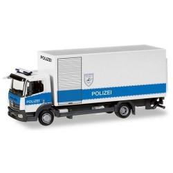 "MB Atego '13 camion fourgon avec hayon ""Polizei Hamburg"""