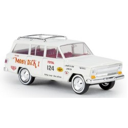 "Jeep Wagoneer 1963 'Rallye Jeep Dans Lagrow - Moby Dick - n° 124"" (USA)"