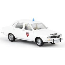 """Renault 12 TL berline """"CRS Police Nationale"""" (France)"""